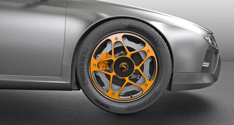 Концепция колеса Continental для электромобилей