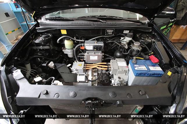 Двигатель электромобиля Geely SC7 белорусской сборки