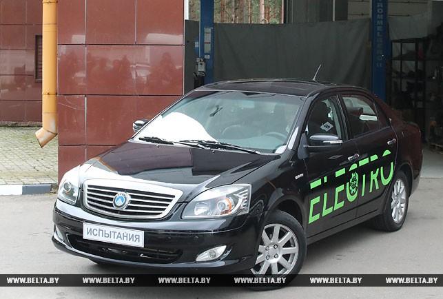 Электромобиль белорусской сборки