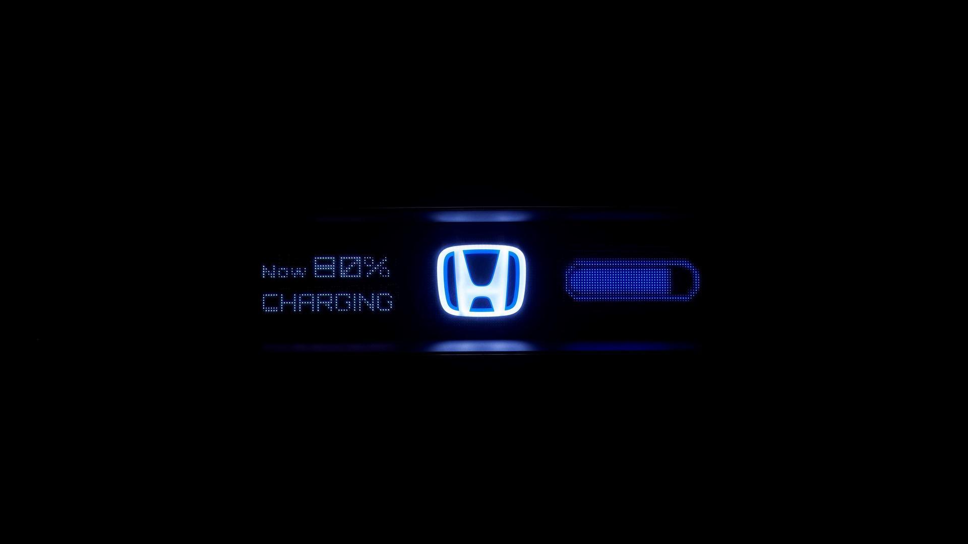 Фото-тизер концепта электрокара Honda Urban EV