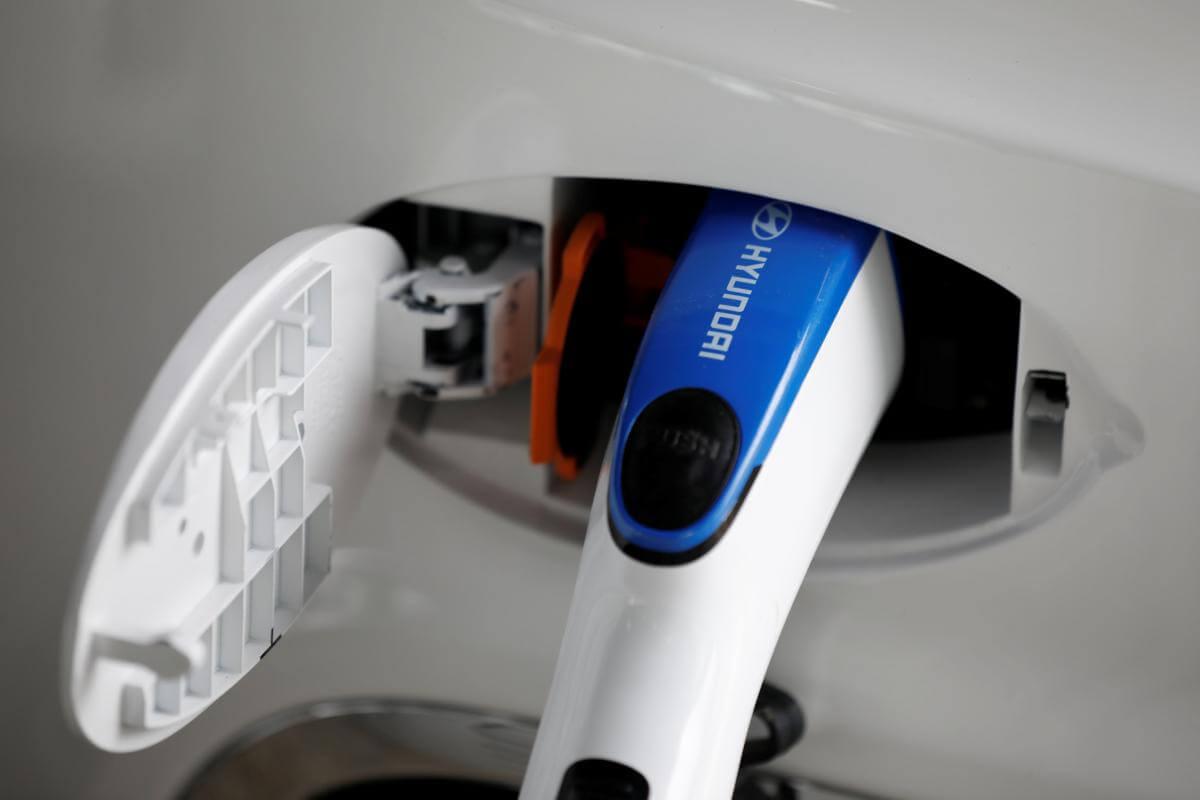 Зарядка водородного Hyundai