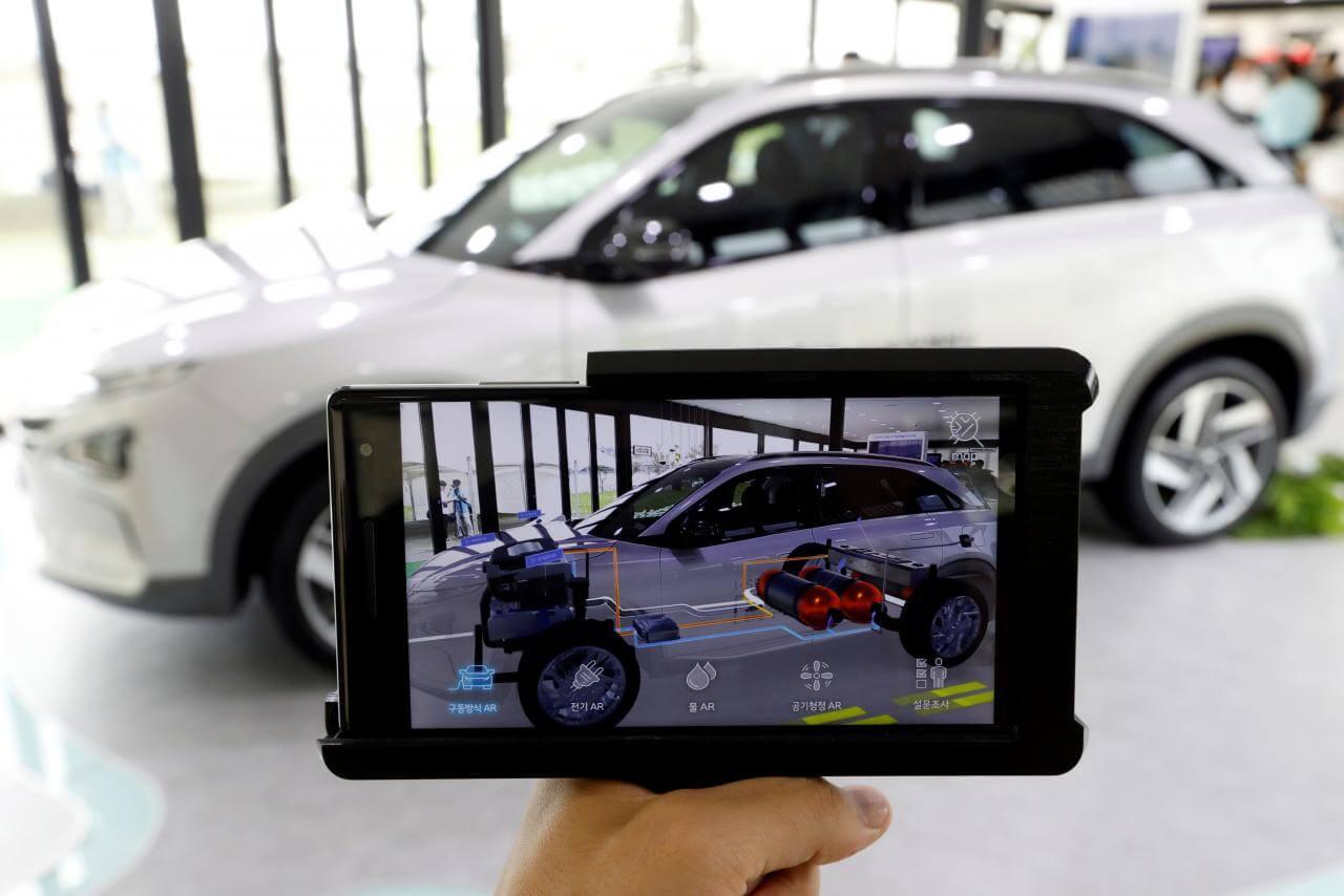 Новая версия внедорожника на водороде Hyundai