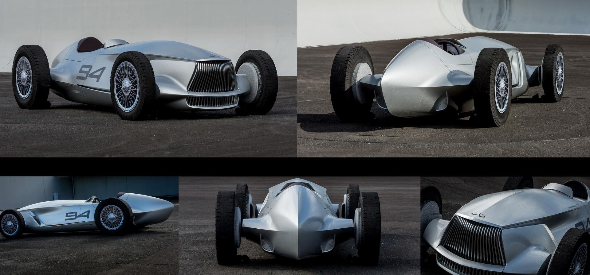 Электрический спорткар Prototype 9