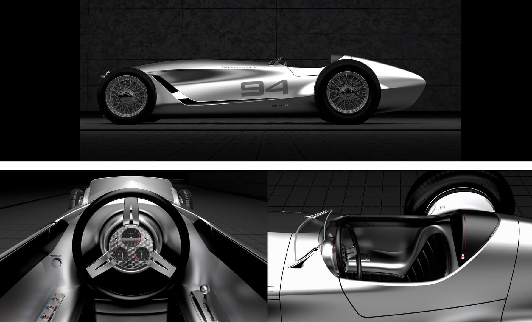 Дизайн электрического спорткара Prototype 9