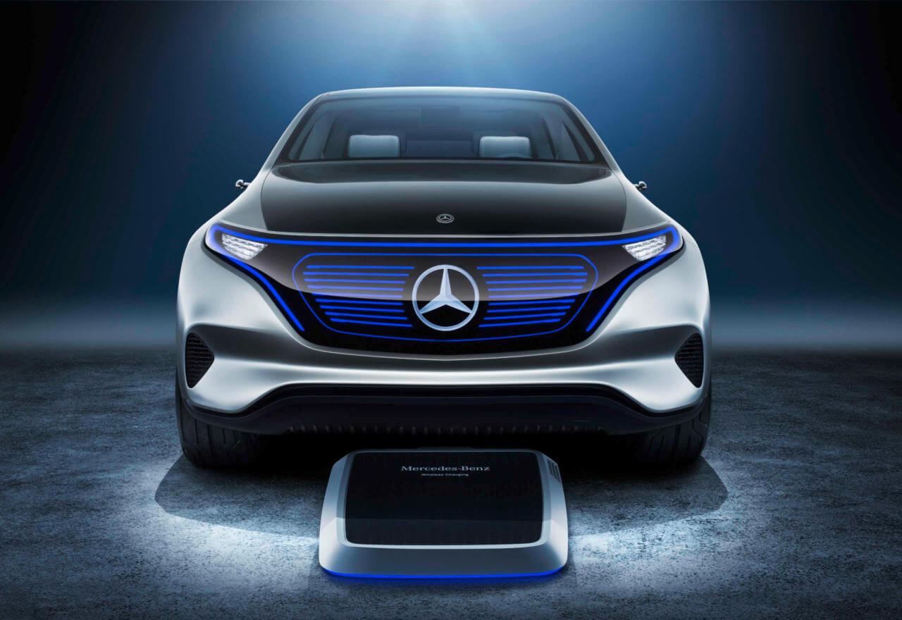 Зарядка Mercedes-Benz EQ