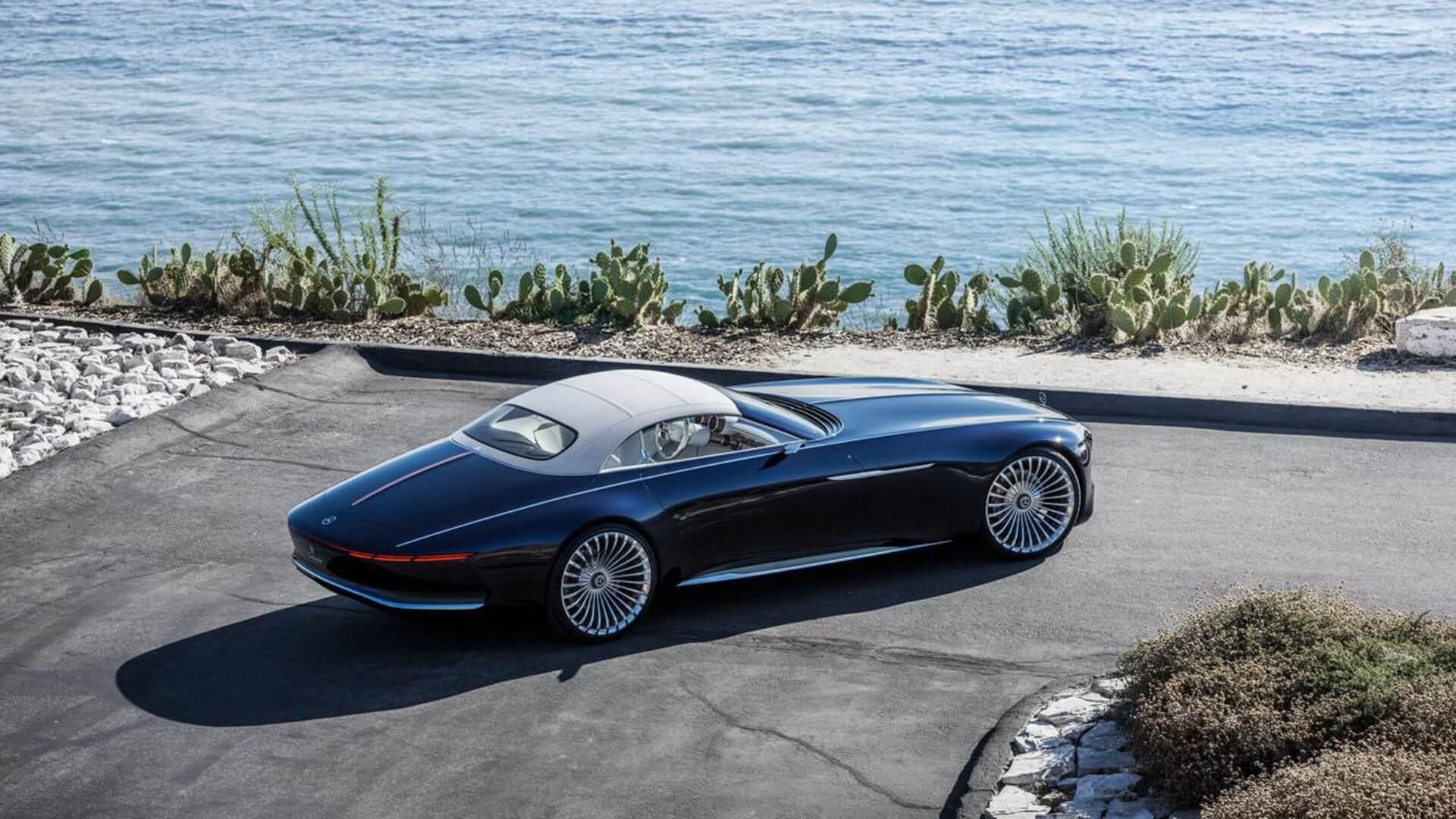 Двухместный электромобиль Vision Mercedes-Maybach 6 Cabriolet