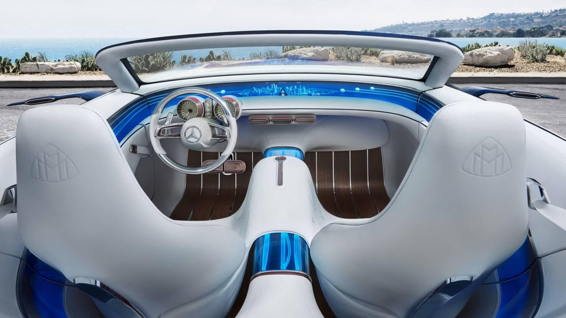 Обивка сидений Vision Mercedes-Maybach 6 Cabriolet
