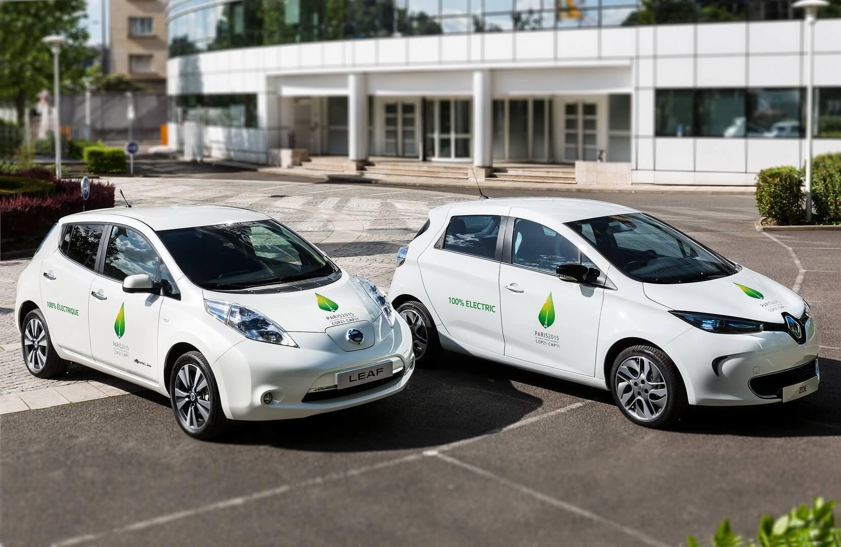 Самые продаваемые электромобили альянса Renault-Nissan-Mitsubishi