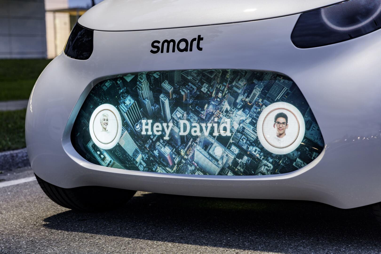 Информация о пользователях Smart Vision EQ fortwo