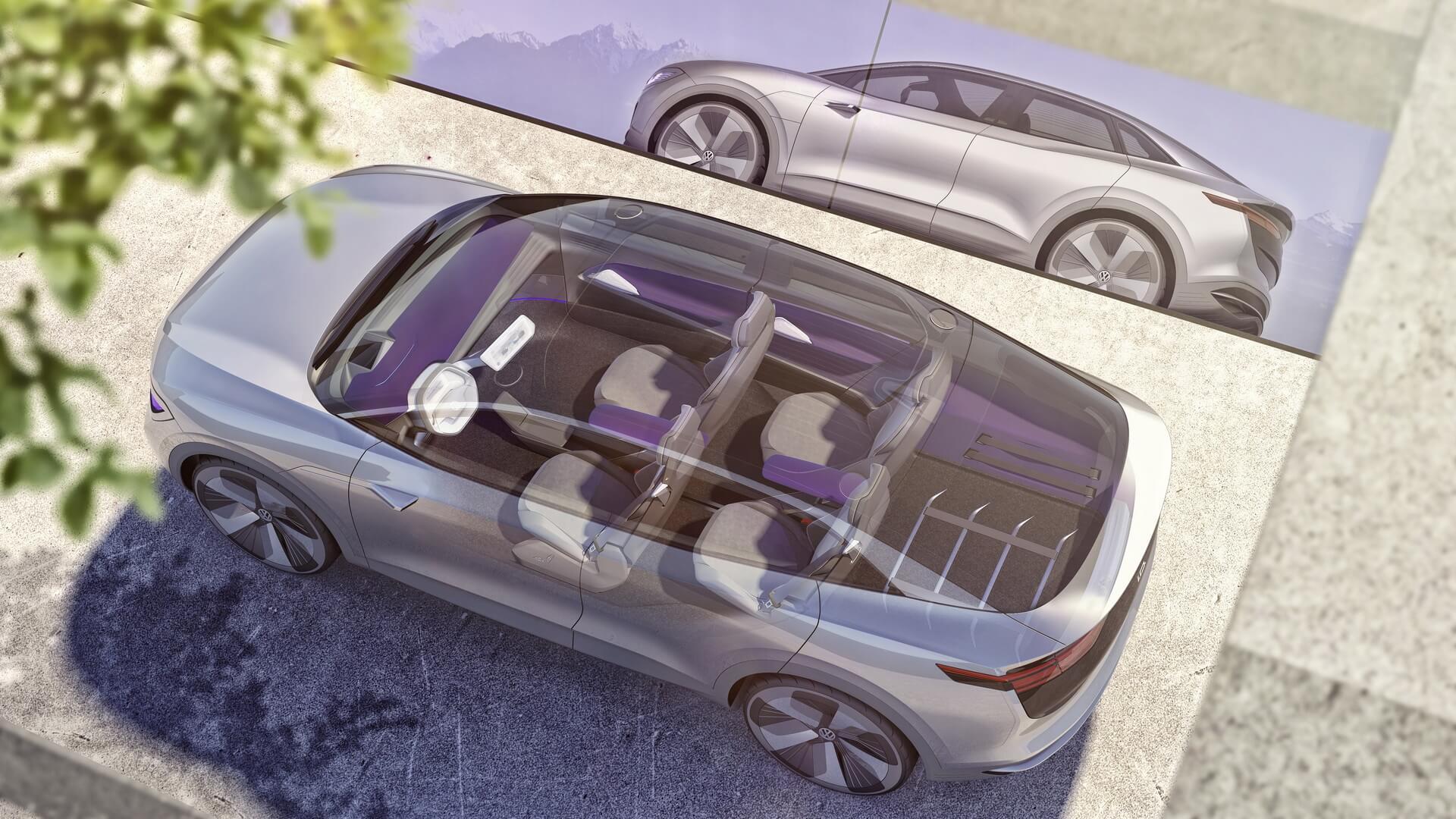 Фотография экоавто Volkswagen I.D. CROZZ - фото 6