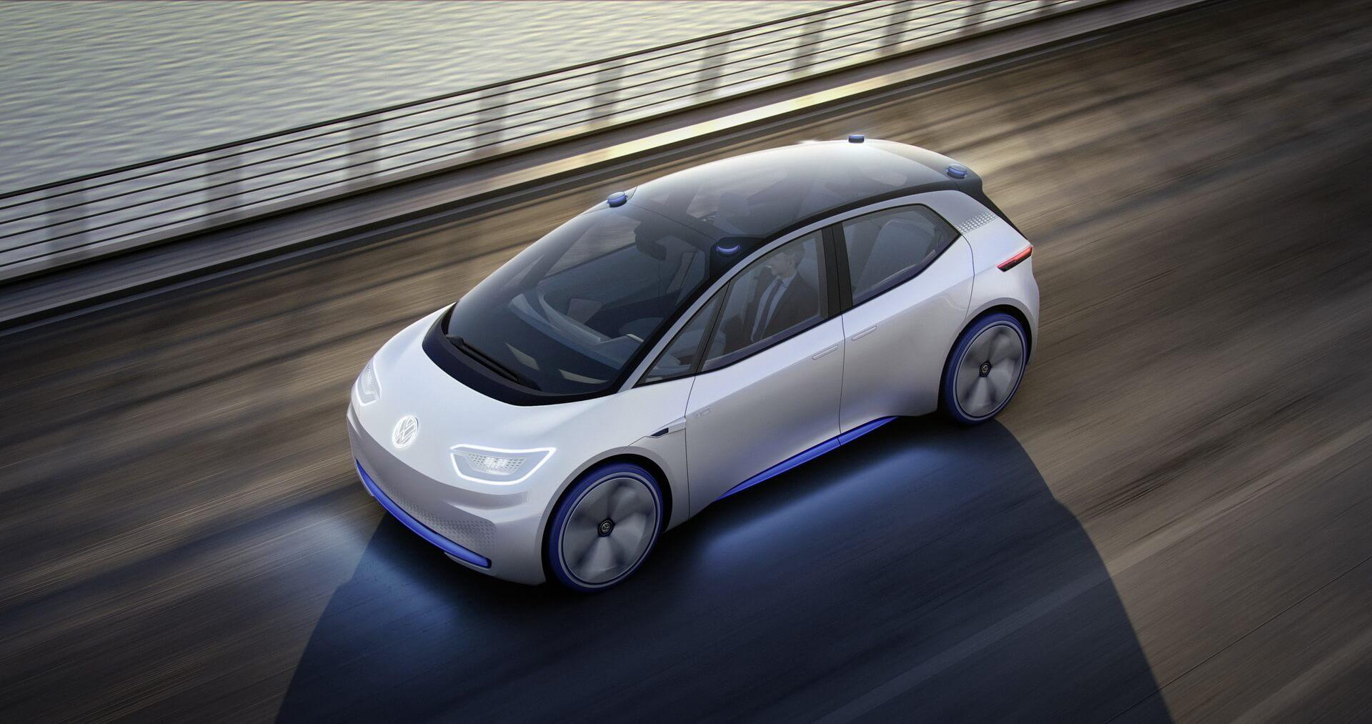 Volkswagen I.D. в движении