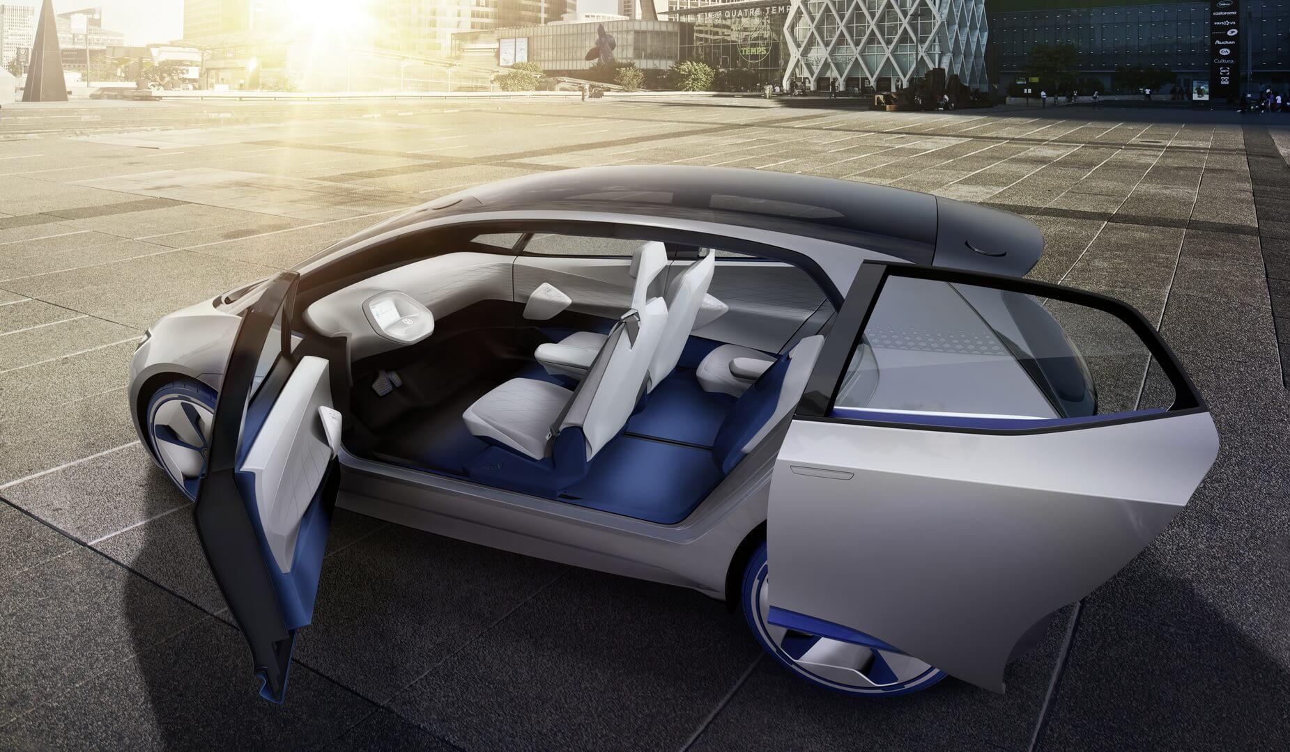 Салон Volkswagen I.D.