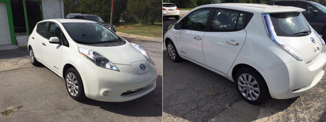 Мой Nissan Leaf 2013
