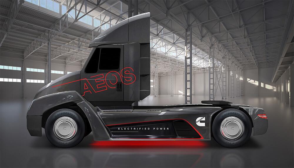 Электрический грузовик AEOS