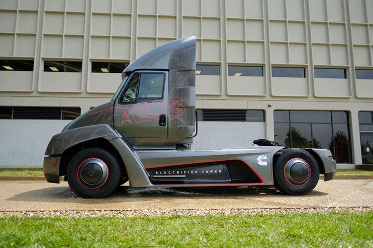 Электрический грузовик AEOS — фото 3