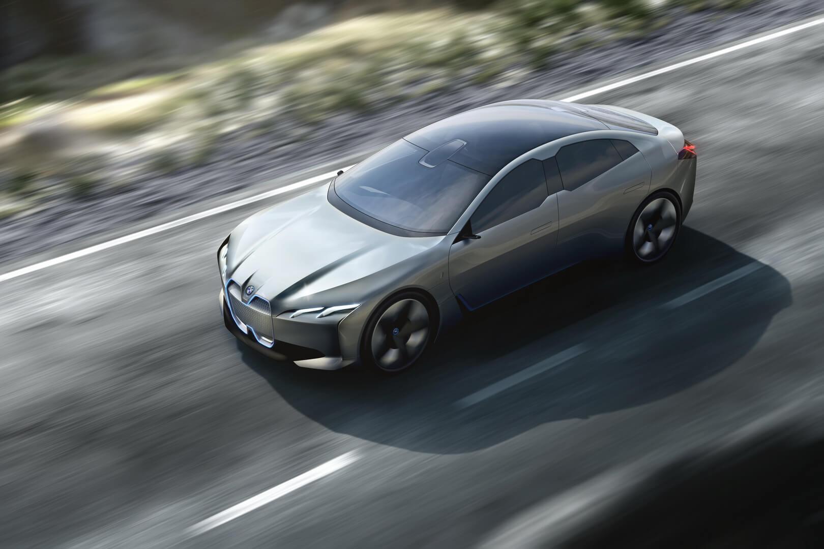 Электрический седан BMW i4/ i Vision Dynamics