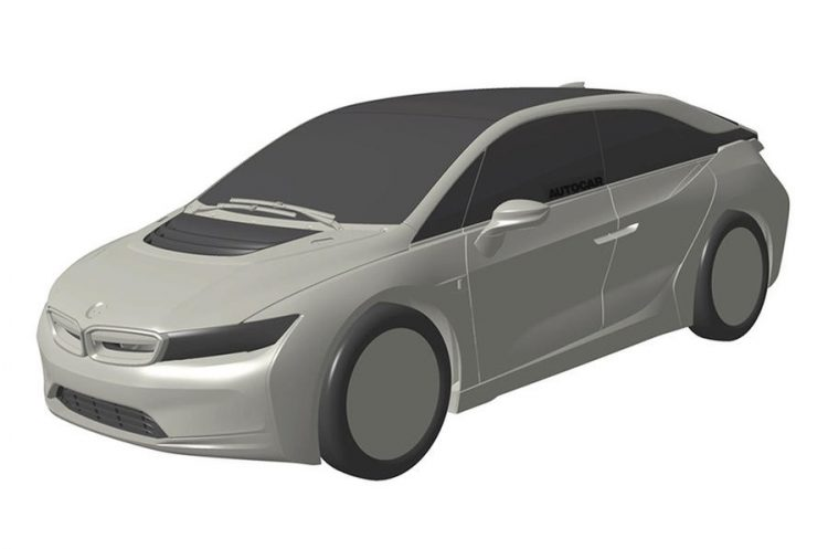 Дизайн пока еще неизвестного концепта BMW «i»