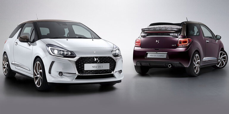 DS 3 Crossback с ДВС