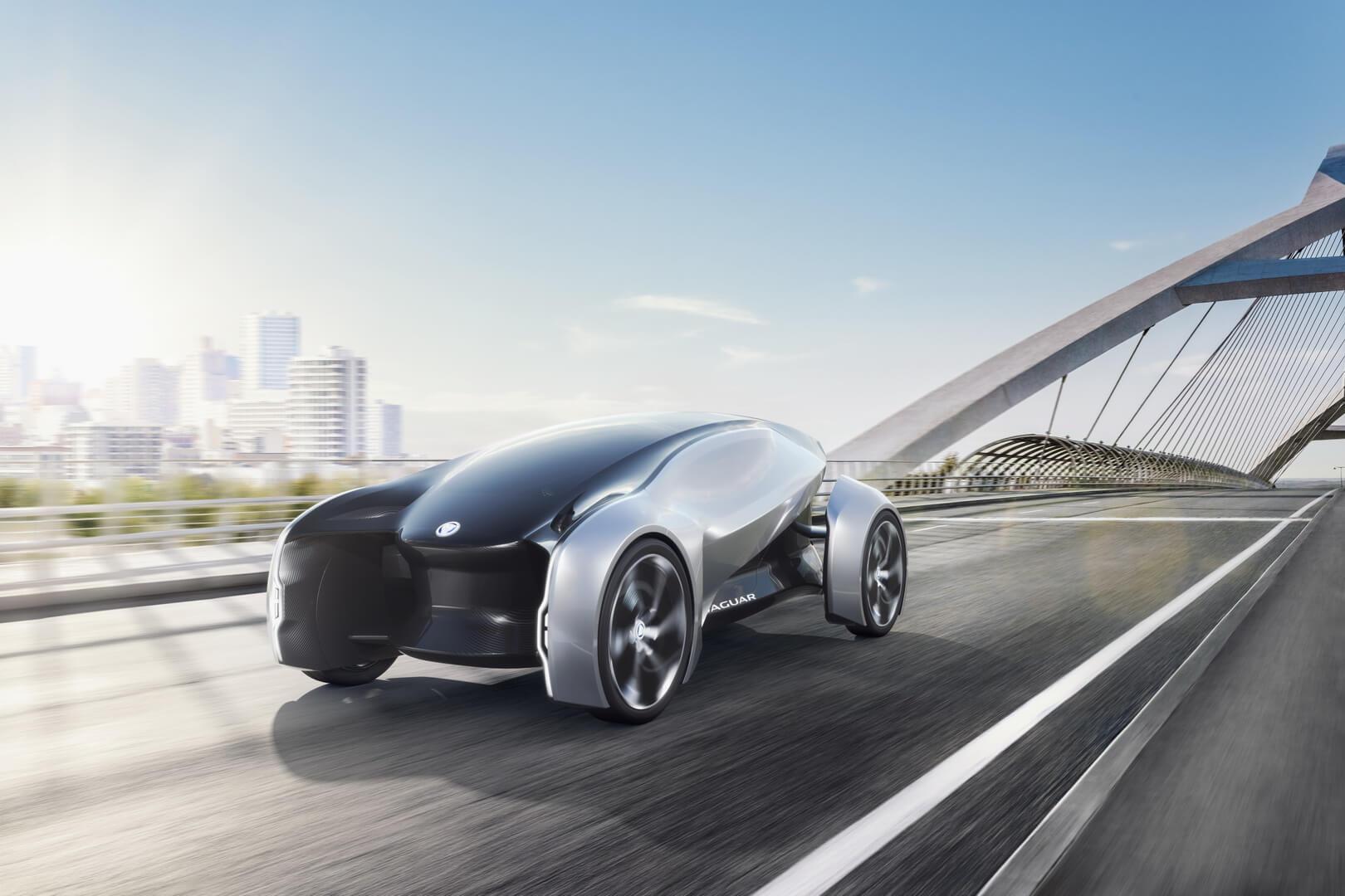 Электрический Jaguar Future-Type Concept
