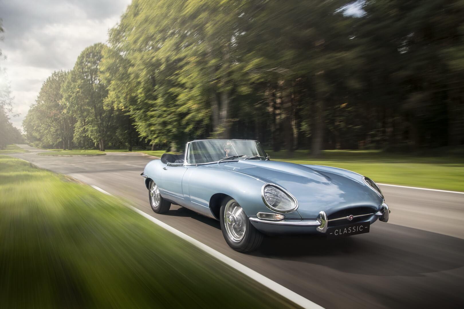 «Самый красивый электромобиль в мире» — электрический Jaguar E-type Zero