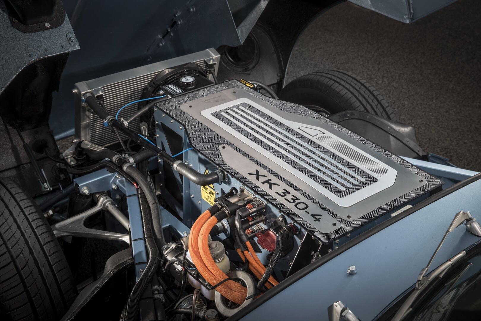 Электрический двигатель Jaguar E-type Zero