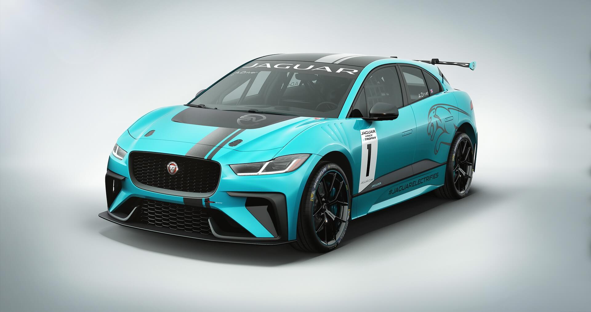 Гоночный Jaguar I-PACE