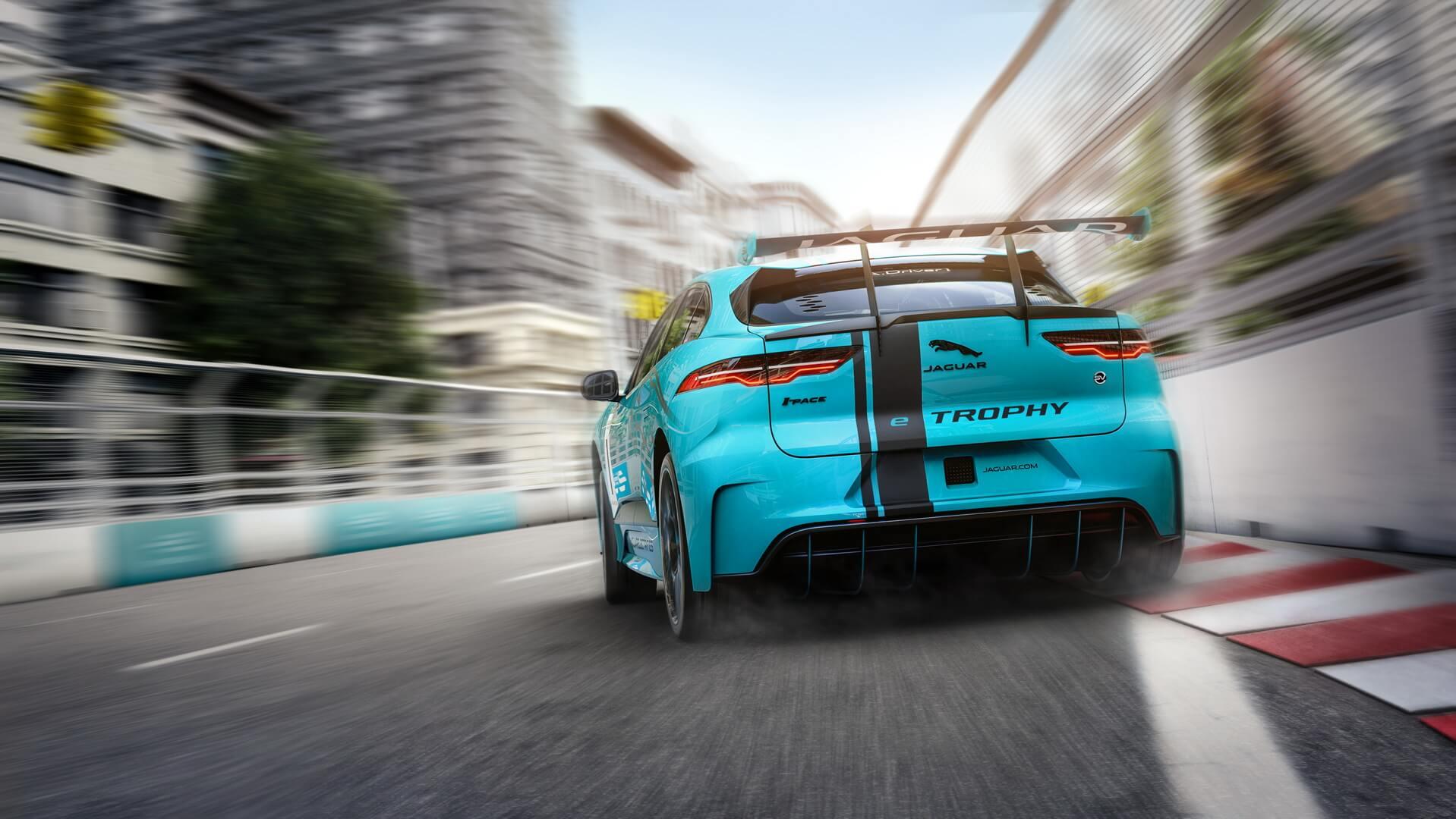 Гоночный Jaguar I-PACE — фото 2