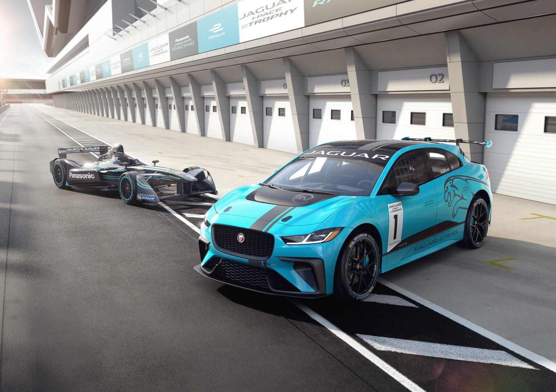 Гоночный Jaguar I-PACE — фото 4