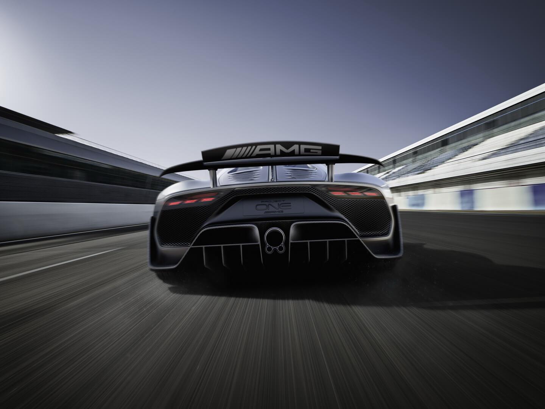 Гибридный гиперкар Mercedes-AMG Project ONE — фото 2