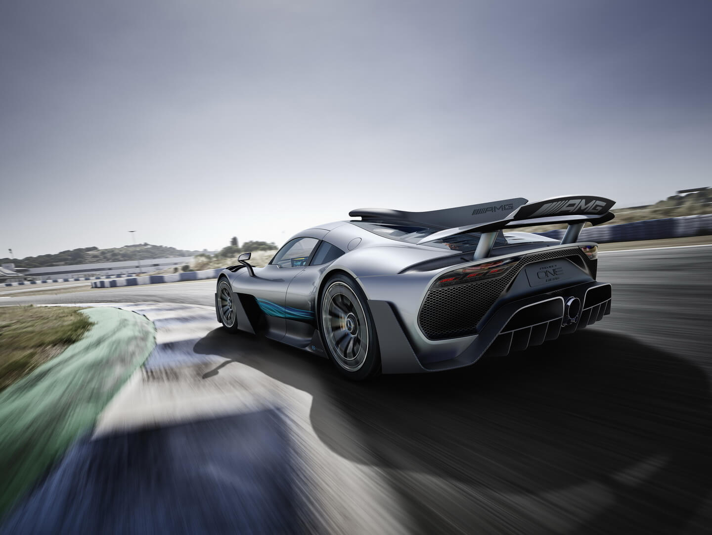 Гибридный гиперкар Mercedes-AMG Project ONE — фото 5