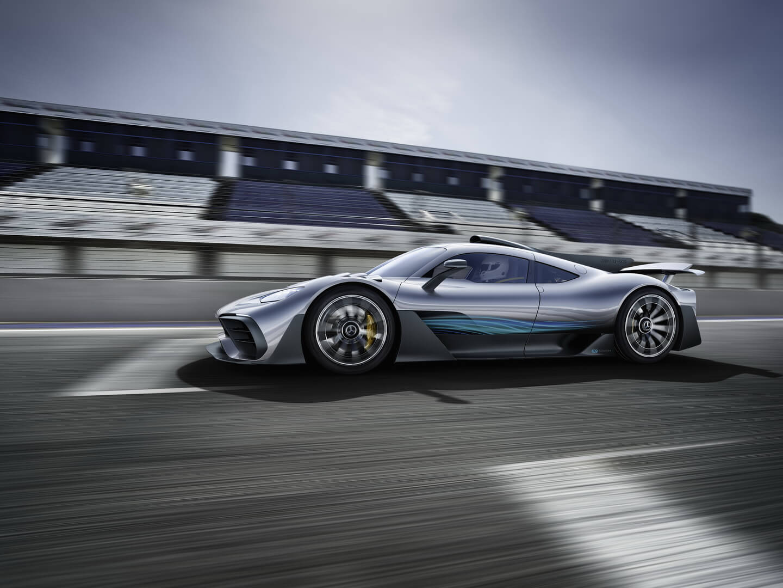 Гибридный гиперкар Mercedes-AMG Project ONE — фото 6
