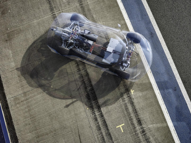 Гибридный гиперкар Mercedes-AMG Project ONE — фото 7