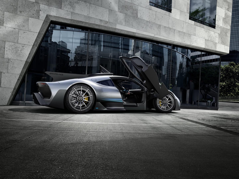 Гибридный гиперкар Mercedes-AMG Project ONE — фото 4