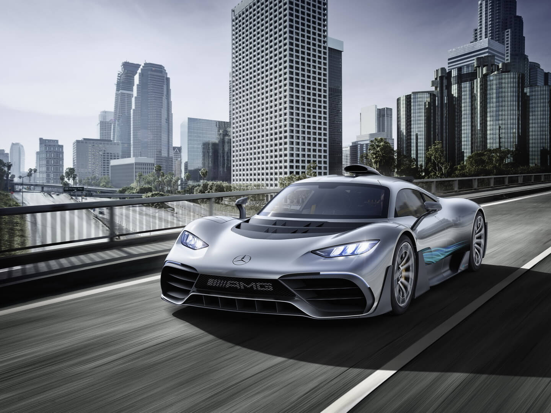 Гибридный гиперкар Mercedes-AMG Project ONE — фото 9