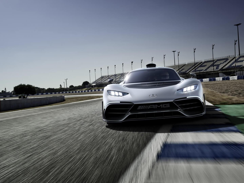Гибридный гиперкар Mercedes-AMG Project ONE