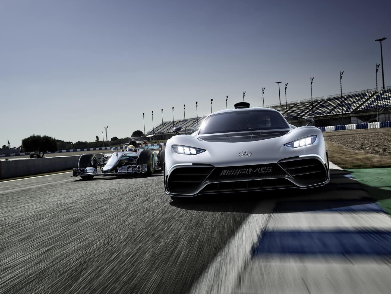 Гибридный гиперкар Mercedes-AMG Project ONE — фото 3