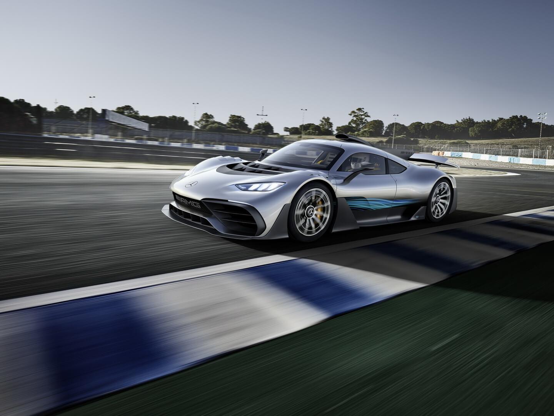 Гибридный гиперкар Mercedes-AMG Project ONE — фото 10