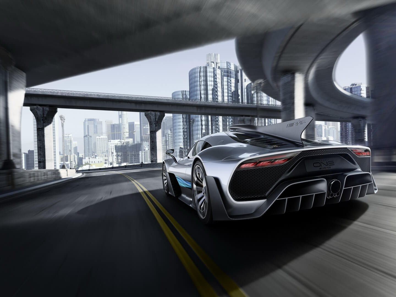 Гибридный гиперкар Mercedes-AMG Project ONE — фото 11