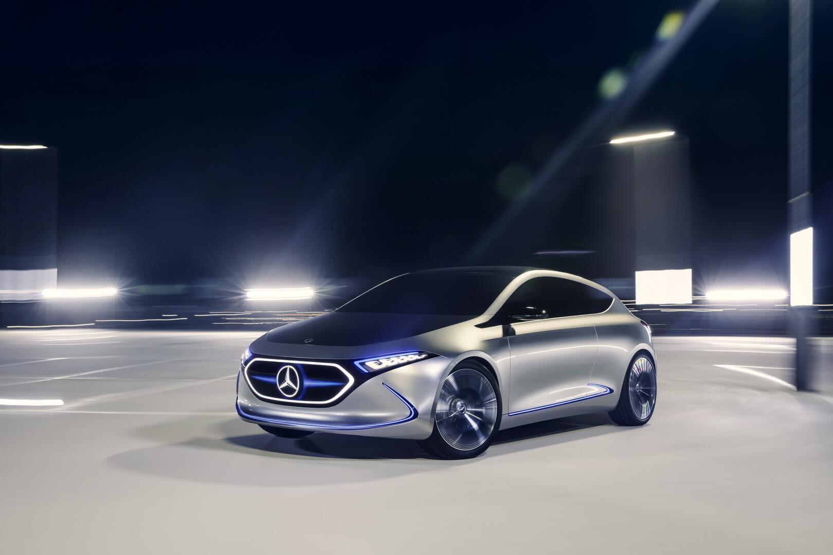 Концептуальный электрический хэтчбек Mercedes-Benz EQA