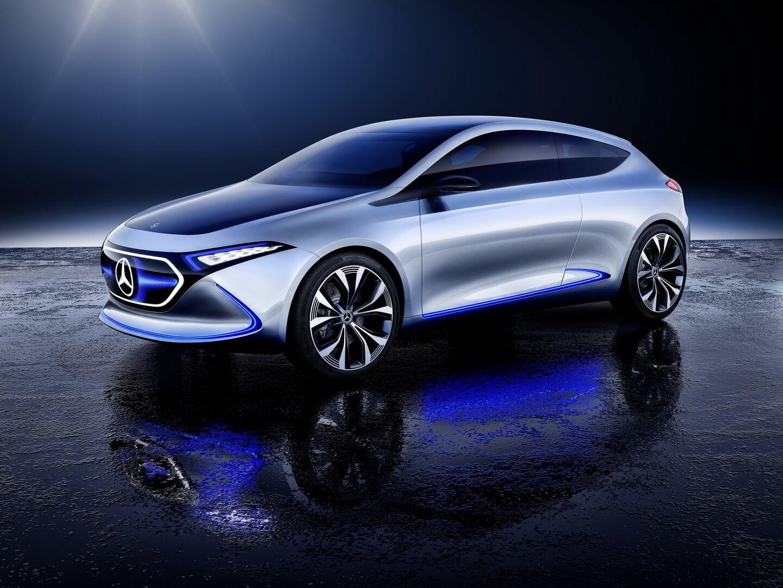 Концепт компактного электрического хетчбека Mercedes-Benz EQA