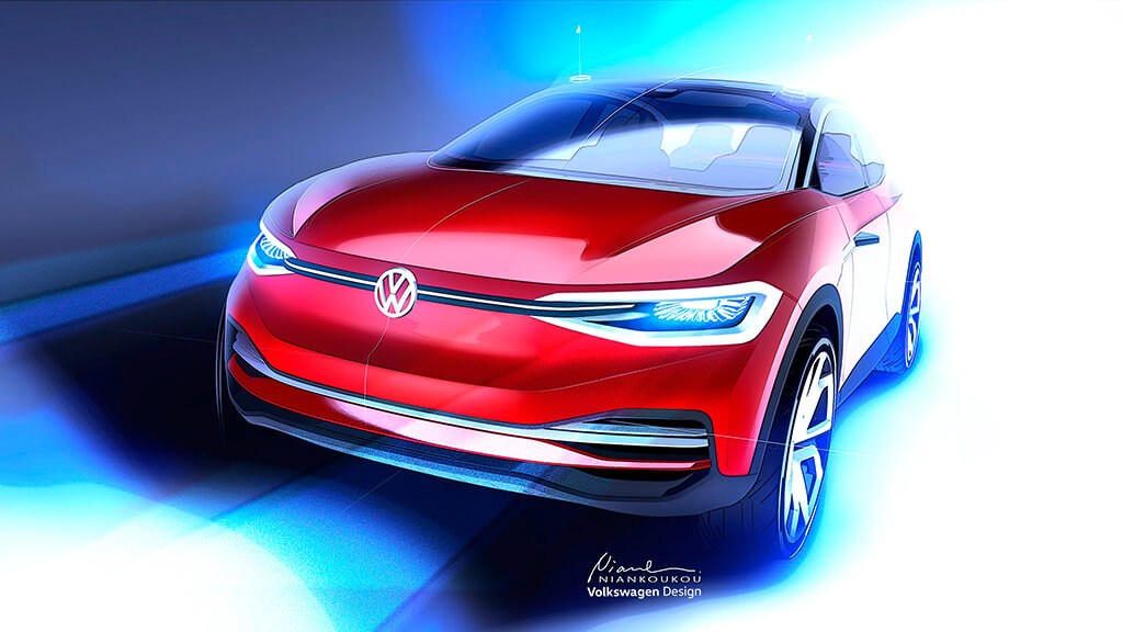 Концепт Volkswagen I.D. Crozz