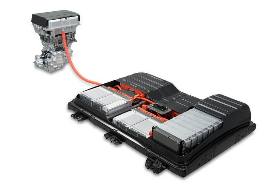 Силовой агрегат Nissan Leaf 2018