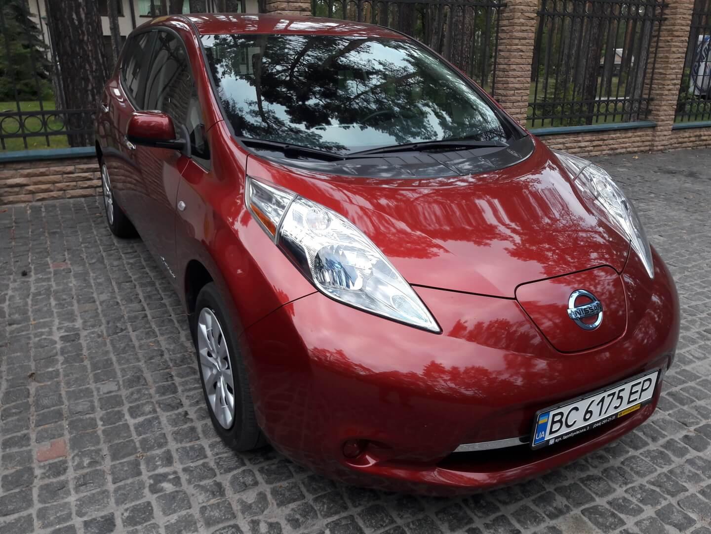 Nissan Leaf S2014 Игоря