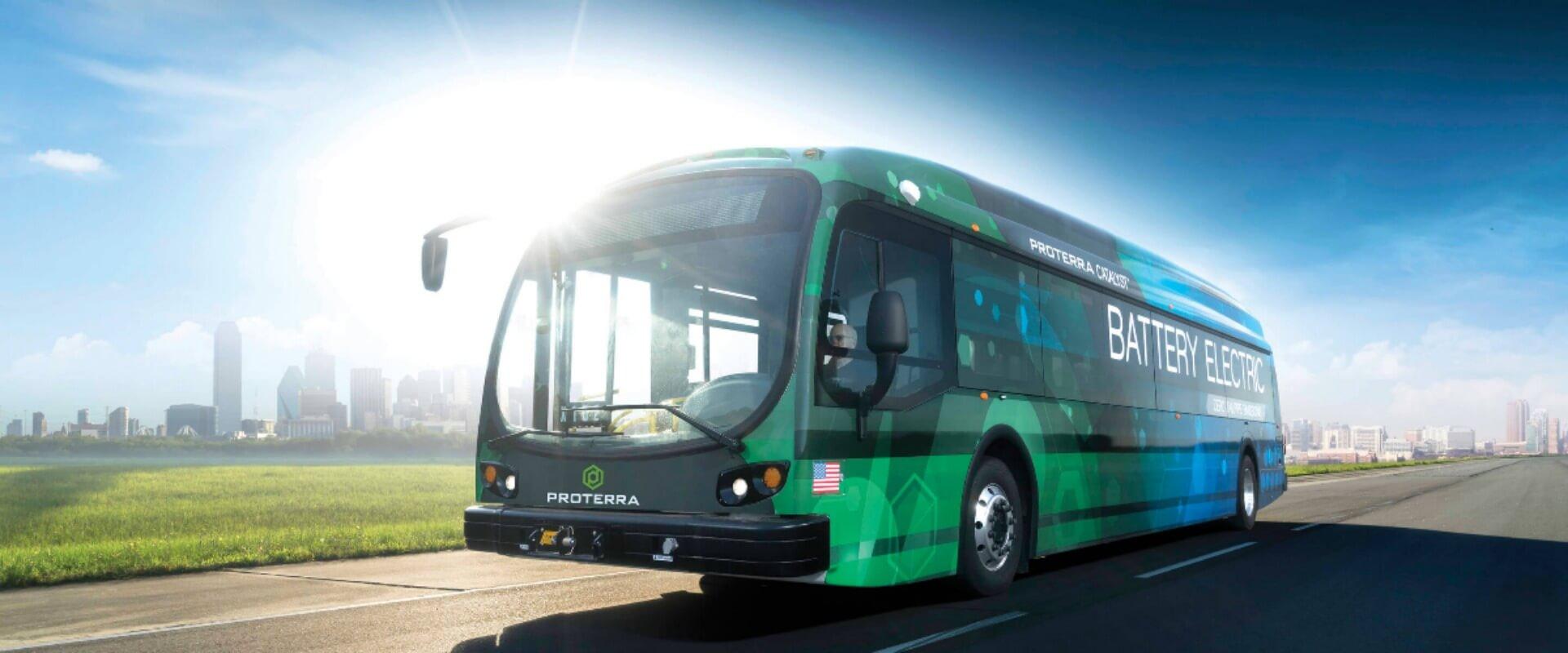 Электрический автобус Proterra Catalyst E2 Max