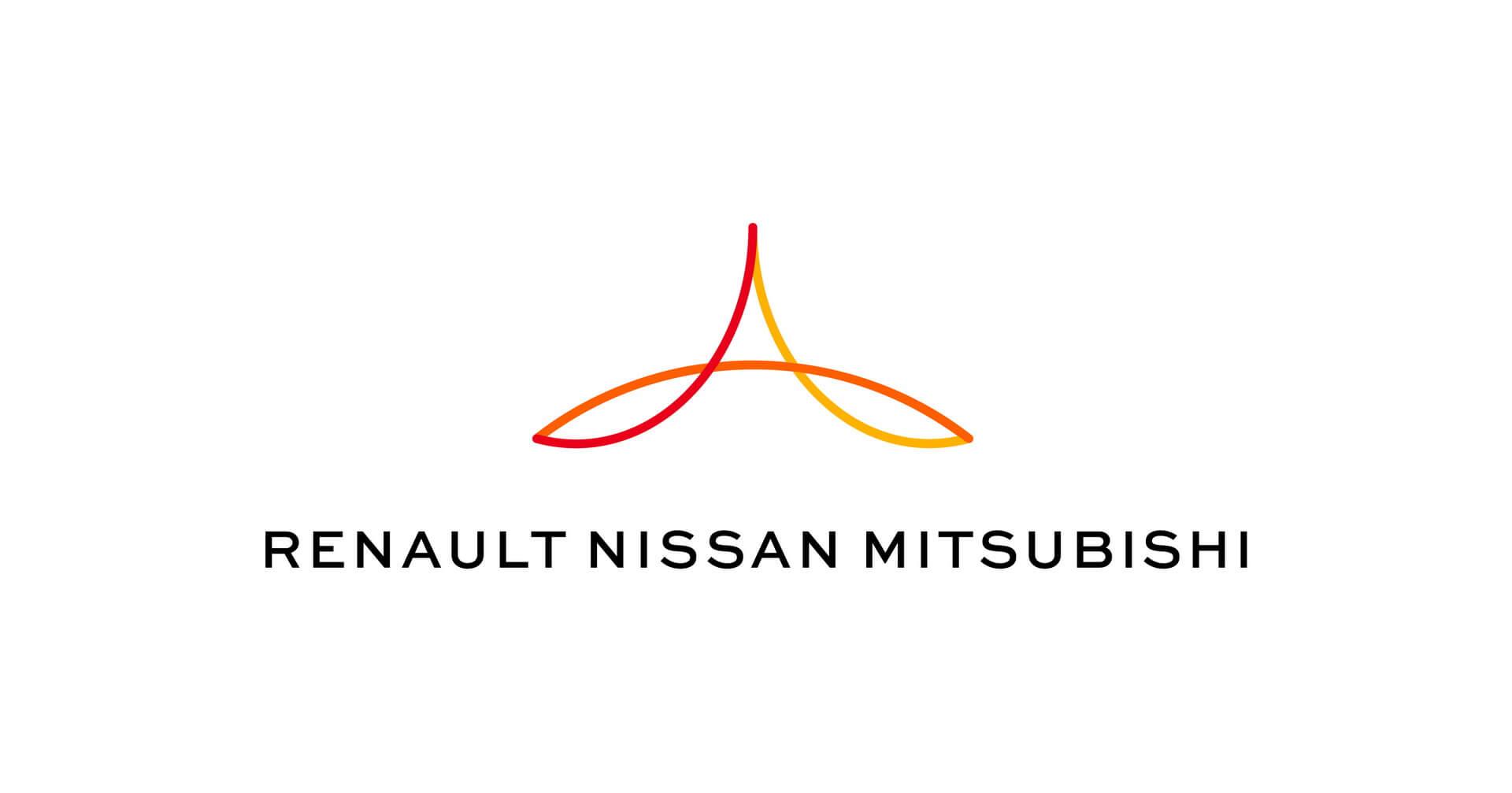 Логотип альянса Renault, Nissan &Mitsubishi