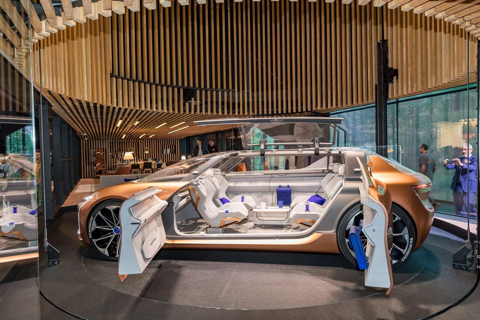 Салон Renault Symbioz