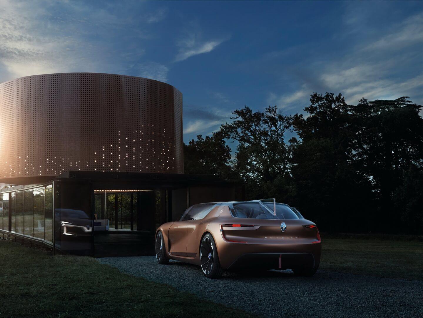 Электрический концепт умного дома Renault Symbioz