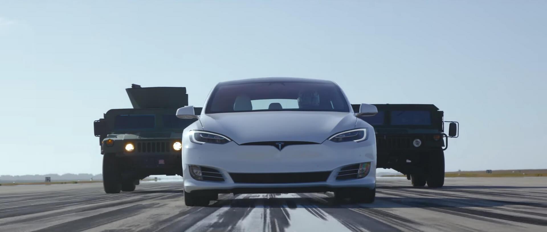 «Лучший драйверский автомобиль» Tesla Model SP100D Ludicrous