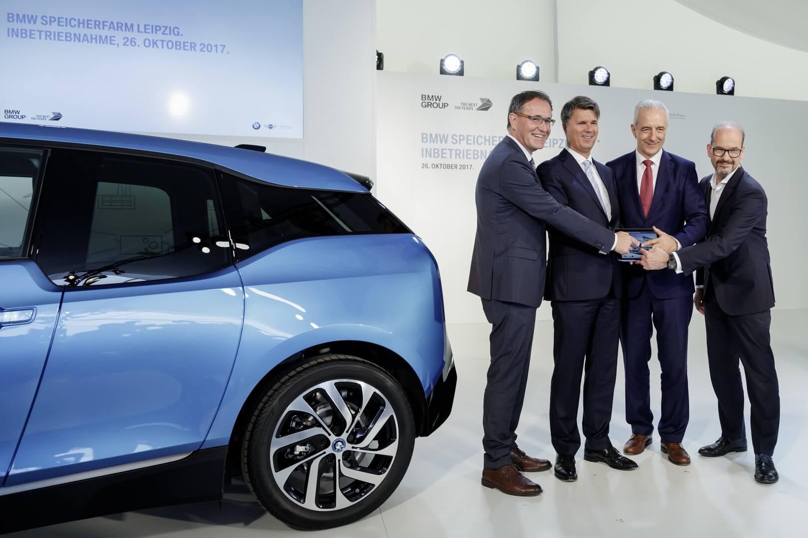 Мероприятие по поводу открытия завода и выпуска 100 000 BMW i3