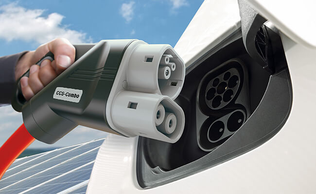 Зарядка для электромобилей Ford